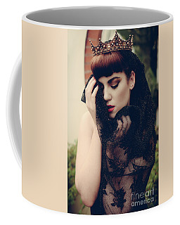 Portrait Of Young Woman Coffee Mug