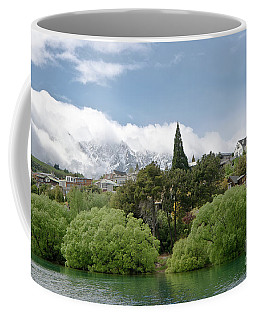 Queenstown New Zealand. Remarkable Ranges And Lake Wakatipu. Coffee Mug
