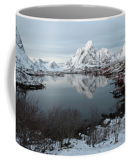 Coffee Mug featuring the photograph Reine, Lofoten 4 by Dubi Roman