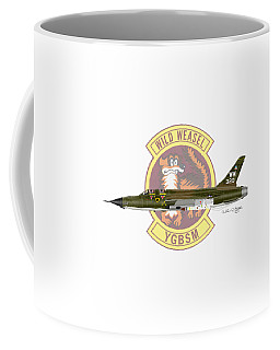 Republic F-105g Thunderchief 561tfs Coffee Mug by Arthur Eggers