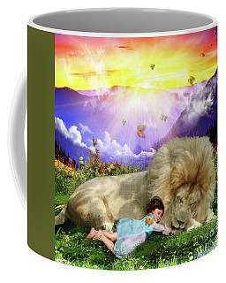 Coffee Mug featuring the digital art Rest  by Dolores Develde
