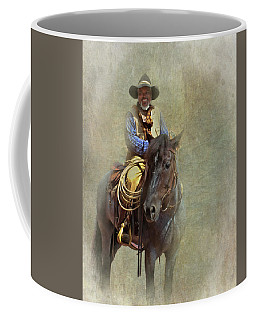 Ride Em Cowboy Coffee Mug by David and Carol Kelly