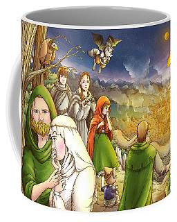 Robin Hood And Matilda Coffee Mug by Reynold Jay