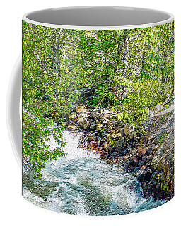Rocks And Water Coffee Mug