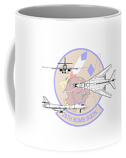 Rockwell B-1b Lancer Coffee Mug by Arthur Eggers