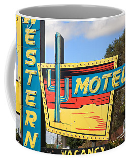 Route 66 - Western Motel Coffee Mug