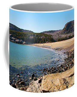 Sand Beach Acadia National Park Coffee Mug