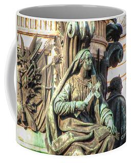 Coffee Mug featuring the pyrography  Sculptur by Yury Bashkin