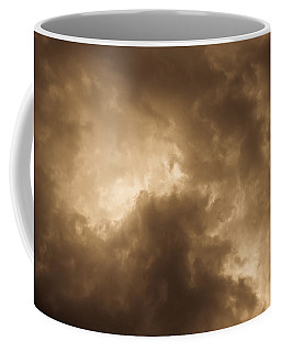 Sepia Clouds Coffee Mug