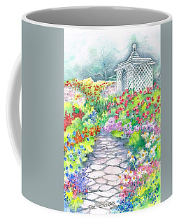 Coffee Mug featuring the painting Serenity by Val Stokes