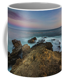 Coffee Mug featuring the photograph Smooth Waves At Sequit Point by Andy Konieczny