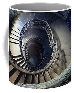 Spiral Staircase With Ornamented Handrail Coffee Mug by Jaroslaw Blaminsky