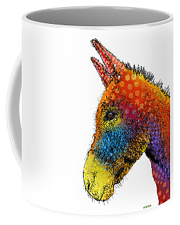 Spotted Donkey Coffee Mug