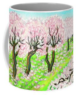 Spring Garden, Painting Coffee Mug by Irina Afonskaya