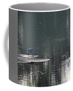 Coffee Mug featuring the photograph Stalker  by Skip Willits