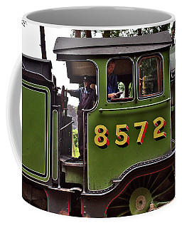 Steam Locomotive In England Coffee Mug