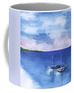 2 Still Boats Coffee Mug