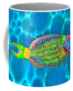 Stoplight Parrotfish Coffee Mug