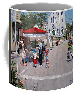 Summer In Hingham Three Coffee Mug