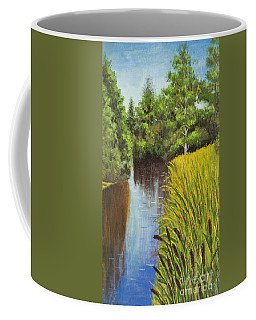 Summer Landscape, Painting Coffee Mug