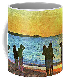 Summer Sunset At The Beach Coffee Mug