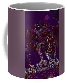 Coffee Mug featuring the digital art Sun Flower Hummel Insect Summer  by PixBreak Art