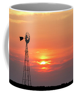 Sunrise And Windmill 01 Coffee Mug