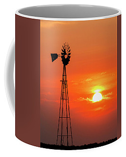 Sunrise And Windmill 02 Coffee Mug