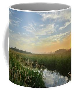 Sunrise At Glacial Park Coffee Mug