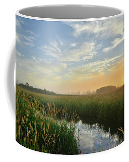 Sunrise At Glacial Park Coffee Mug