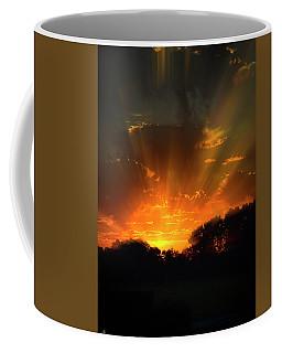 Sunrise At The Abbott Aviation Center Coffee Mug