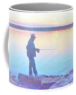 Sunrise Fisherman Coffee Mug