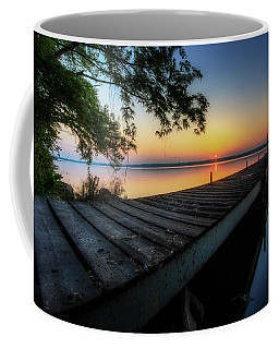 Sunrise Over Cayuga Lake Coffee Mug