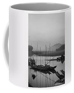 sunset at Mae Khong river Coffee Mug