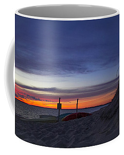Sunset On The Bay Coffee Mug by Michael Friedman