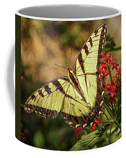 Coffee Mug featuring the photograph Swallowtail by Jane Luxton