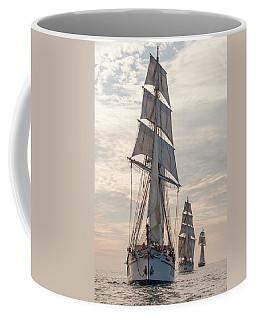Parade Of Ships Coffee Mug