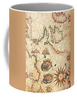 Compass Drawings Coffee Mugs