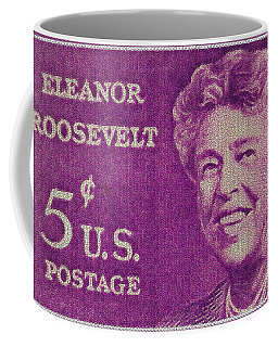 The Eleanor Roosevelt Stamp Coffee Mug by Lanjee Chee