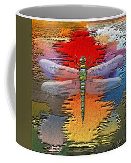 The Legend Of Emperor Dragonfly Coffee Mug