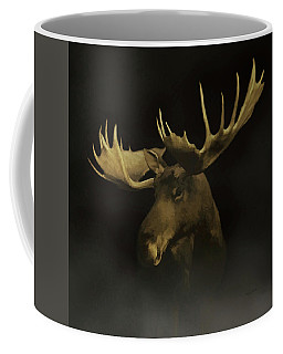 The Moose Coffee Mug by Ernie Echols