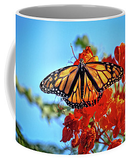 The Resting Monarch Coffee Mug by Robert Bales