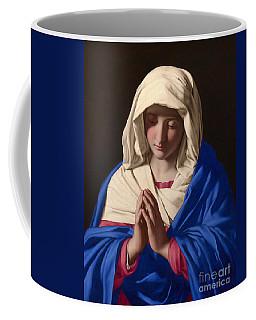 The Virgin In Prayer Coffee Mug