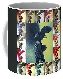 The Winged Victory - Paris - Louvre Coffee Mug