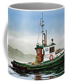 Tugboat Lela Foss Coffee Mug