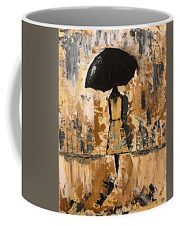 Umbrella Girl Coffee Mug