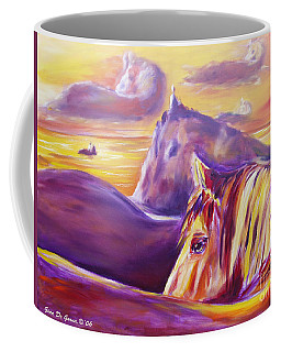 Horse World Coffee Mug