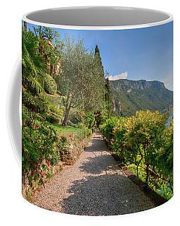 Villa Cipressi Gardens Coffee Mug by Brenda Jacobs