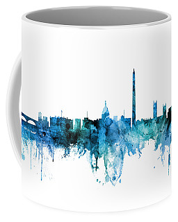 Washington Dc Skyline Coffee Mug