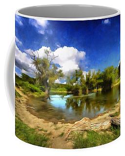 Watering Hole Coffee Mug by Ricky Dean